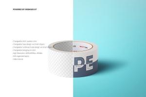 纸胶带外观图案设计样机 Paper Duct Tape Mockup插图2