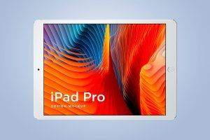 多角度的iPad Pro展示模型Mockup下载[psd]插图11