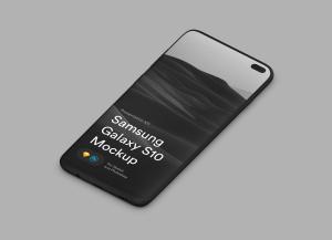 三星智能手机S10超级样机套装 Samsung Galaxy S10 Mockups插图38