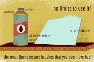 散点纹理画笔AI笔刷 Scatter Texture Brushes for Adobe Illustrator插图2