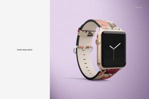 一流设计素材网下午茶:高品质的Apple Watch表带展示模型Mockup下载 1.27 GB[psd]插图6