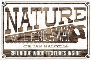 20款惊人的高分辨率木材纹理 The Lumber Mill – Photoshop Wood Kit插图2