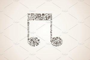 音乐元素组合音乐插图集 Compound music插图1