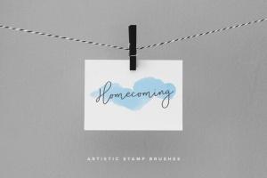 100个艺术印章画笔PS&Procreate笔刷 Brushwork: Artistic Procreate & Photoshop brushes插图(8)