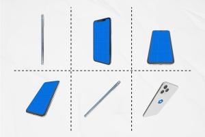 多角度全方位视觉iPhone 11手机样机模板 iPhone 11 Kit插图4