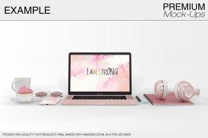 苹果MacBook Pro笔记本电脑样机展示模型mockups插图15