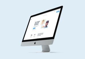 2019款iMac一体机电脑多角度样机模板 iMac 2019 Angle Mockup插图4