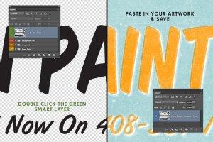 即时打印图片效果图层样式 InkBuddie – Instant Screen Printing插图2