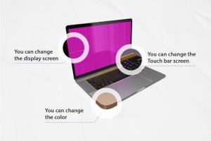 MacBook Pro笔记本样机模板套装 Macbook Pro kit插图2