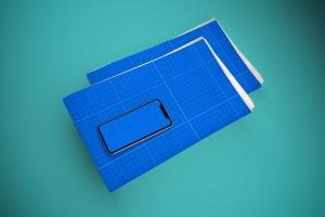 电子版报纸版式设计效果图样机 Newspaper App MockUp插图13