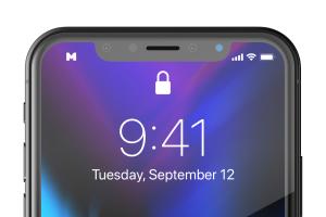 iPhone X智能手机UI设计屏幕演示样机免费素材 Free iPhone X Mockup 01插图4