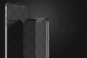 iPhone X手机屏幕设计预览样机模板08 iPhone X Mockup 08插图5