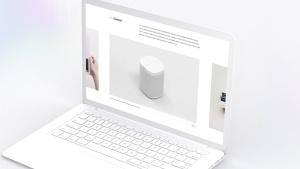 白色超极本笔记本电脑样机模板 White Laptop Mockup插图16