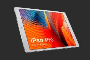 多角度的iPad Pro展示模型Mockup下载[psd]插图6