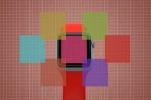 Apple智能手表APP设计展示设备样机V.3 Apple Watch Mockup V.3插图11