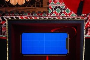 高端奢华场景iPhone X展示样机模板 Arabic iPhone X Mockup插图8
