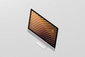 iMac电脑桌面屏幕样机模板 Desktop Screen Mockup插图8