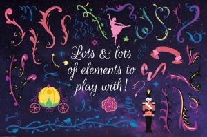 梦幻童话手绘矢量插画素材包 Fairy Tale Illustration Bundle插图12