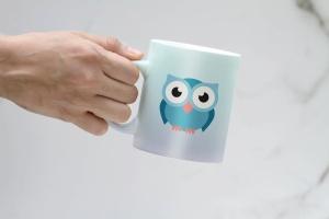 马克杯图案设计预览样机 Clean Mug Mock Up插图2