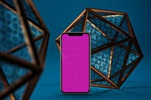 iPhone Xs智能手机屏幕设计预览样机模板 Arabic iPhone XS插图9