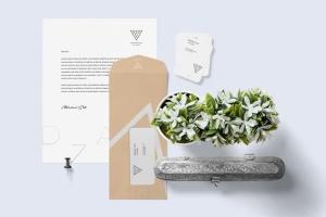 高品质企业品牌办公用品套装样机 Stationery Mockup Scenes插图3