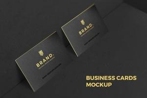 豪华尊贵VIP名片样机套装Vol.1 Business Cards Mockup Vol. 1插图2