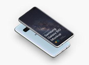 三星智能手机S10超级样机套装 Samsung Galaxy S10 Mockups插图42
