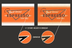 19世纪40-50年代复古风格广告设计图层样式 Shine On – Retro Advertisement Kit插图3