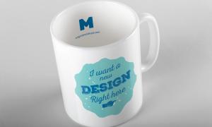 马克杯子定制图案设计效果图样机01 Mug Mockup 01插图4