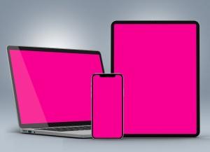 响应式网站设计效果图多设备预览样机 Responsive Website PSD Mock-ups 2019插图4