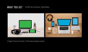 高品质的电子产品APP UI WEB网站展示VI样机展示模型mockups插图2