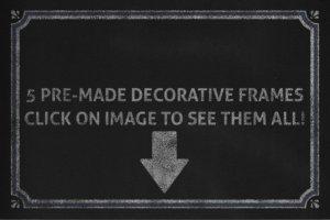 黑板画粉笔笔画文本样式 Chalkboard Automator – Chalk Effects插图5
