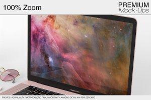 苹果MacBook Pro笔记本电脑样机展示模型mockups插图4
