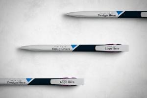 圆珠笔签字笔样机模板v13 Pen Mockup V.13插图1