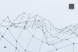 带连接线粒子抽象图形PS笔刷 Particles with Connected Lines Photoshop Brushes插图3