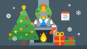圣诞节&新年庆祝主题矢量插画素材 Christmas & New Year Illustrations插图5