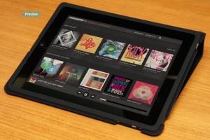 平板APP应用界面设计演示样机模板 Black iPad Tablet App UI Mock-Up插图16