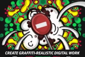 涂鸦艺术插画创作Procreate笔刷工具箱 The Graffiti Box: Procreate Brushes插图7