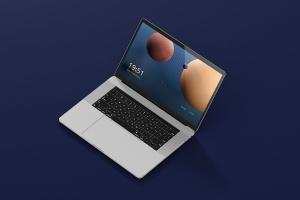 高分辨率笔记本电脑样机 Laptop Screen Mockup插图1