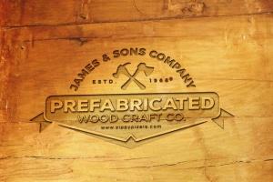 精致木纹浮雕logo样机模板 Wood Logo Mockups插图2