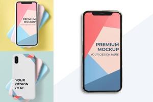 移动端APP界面设计展示样机模板 Mobile Design Mockup插图1
