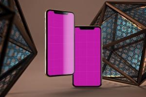 iPhone Xs智能手机屏幕设计预览样机模板 Arabic iPhone XS插图13