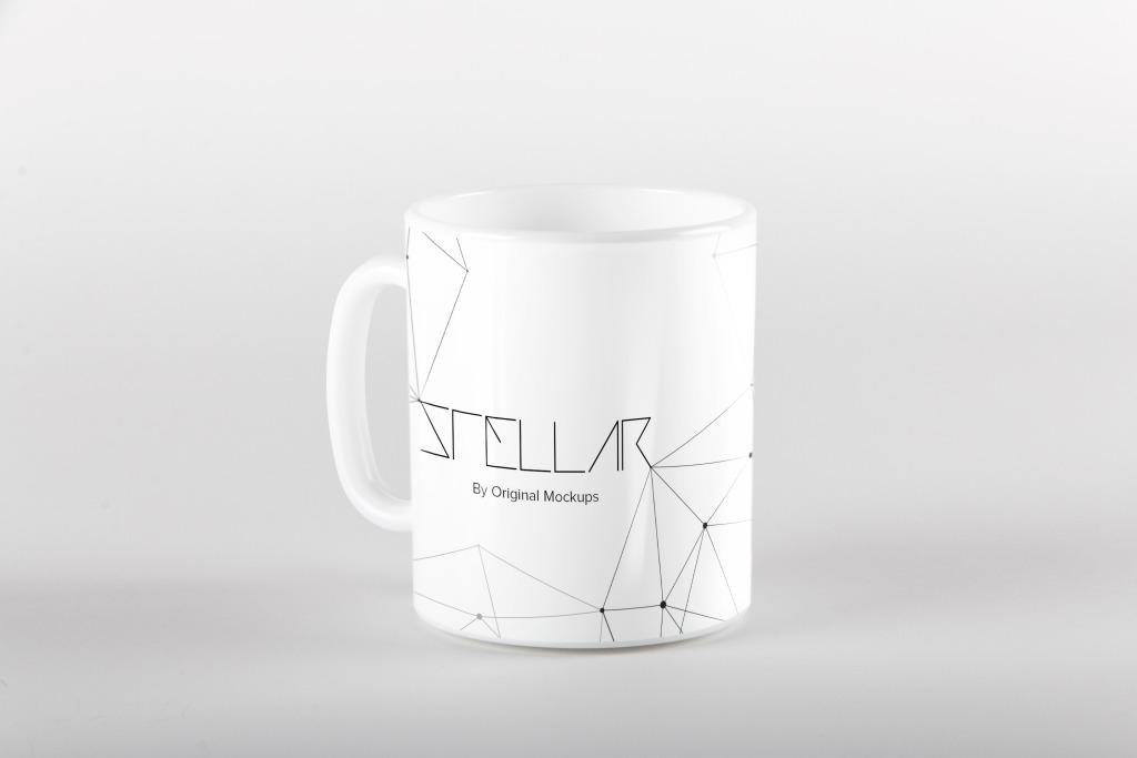 马克杯陶瓷杯外观设计效果图样机模板05 Mug Mockup 04插图