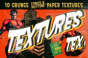 漫画和半色调Procreate笔刷 Comics & Halftone: Procreate Brushes插图7