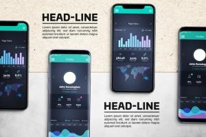 Android & iOS 客户端UI设计演示样机 Android & iOS Mockup插图3
