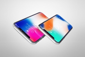 多角度iPhone X智能手机样机 Phone X Realistic Mock-Ups插图10
