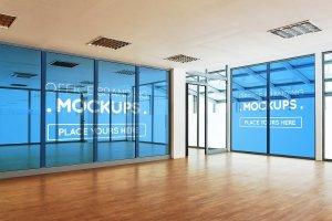 20多个办公室品牌样机展示模型mockups插图1