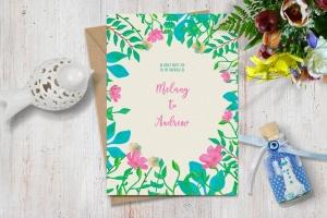 水彩花卉绘画图案&AI画笔笔刷 Illustrator Floral Art & Pattern Brushes插图(7)