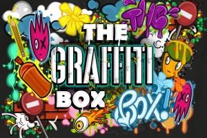 涂鸦艺术插画创作Procreate笔刷工具箱 The Graffiti Box: Procreate Brushes插图1