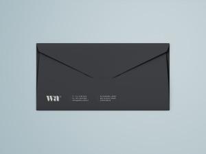 侧缝信封外观设计样机模板 Side Seam Envelope Mockup插图3